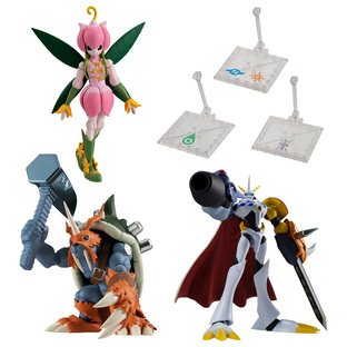 SHODO DIGIMON 3 COMPLETE SET