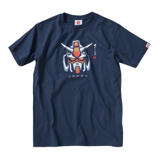 Gundam Motif T-shirt—Mobile Suit Gundam/STRICT-G JAPAN Collaboration