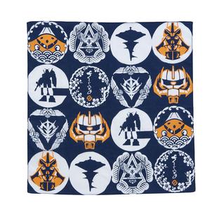 Motif Handkerchief—Mobile Suit Gundam/STRICT-G JAPAN Collaboration