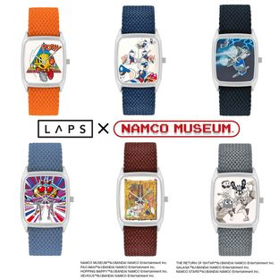 Pac-Man Wristwatch—Namco Museum/LAPS Collaboration