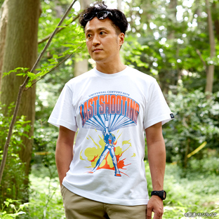 Last Shooting T-shirt—Mobile Suit Gundam/STRICT-G Collaboration