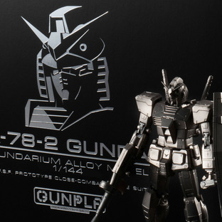 GUNDARIUM ALLOY MODEL 1/144 RX-78-2 GUNDAM[Feb 2021 Delivery]