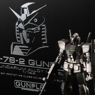 GUNDARIUM ALLOY MODEL 1/144 RX-78-2 GUNDAM
