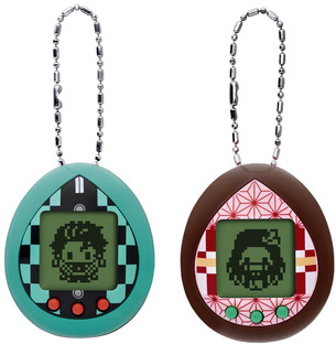 Demon Slayer Tamagotchi Tanjirotchi color and Nezukotchi color Set