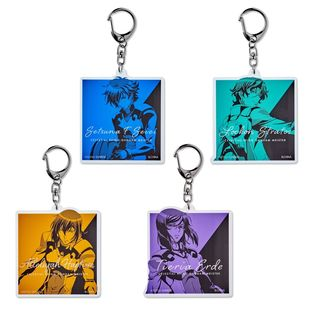 Mobile Suit Gundam 00 Bicolor-themed Charm