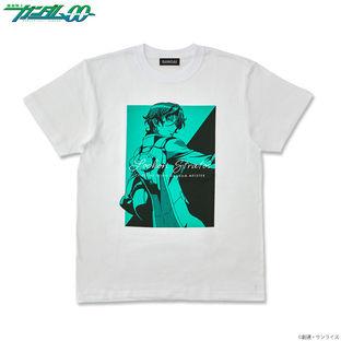 Mobile Suit Gundam 00 Bicolor-themed T-shirt