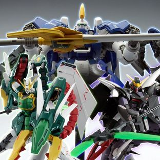 MG 1/100 EXPANSION PARTS SET for MOBILE SUIT GUNDAM W EW SERIES (The Glory of Losers Ver.)