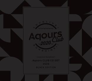 Love Live! Sunshine!! Aqours CLUB CD SET 2020 BLACK EDITION [LIMITED]