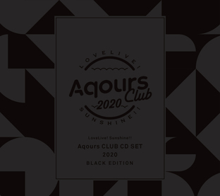 Love Live! Sunshine!! Aqours CLUB CD SET 2020 BLACK EDITION [LIMITED] [Mar 2021 Delivery]