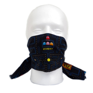 PAC-MAN Tenugui Face Covering