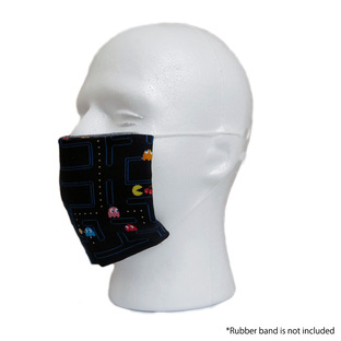PAC-MAN Tenugui Face Covering [September 2021 Delivery]