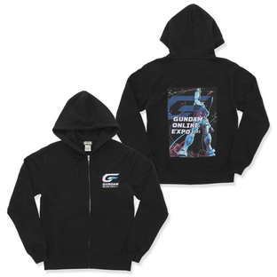 Gundam Online Expo Key Visual Sweater 2021 (Black)