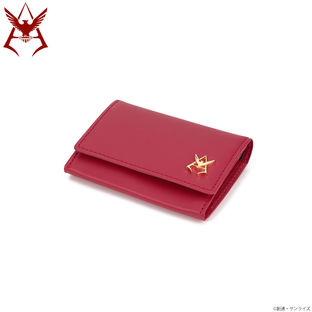 Mobile Suit Gundam Char Aznable Golden Emblem Business Card Case