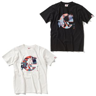 Japanese Style Logo T-shirt—Mobile Suit Zeta Gundam/STRICT-G JAPAN Collaboration