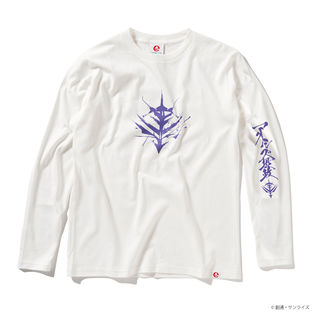 Qubeley Long-Sleeve T-shirt—Mobile Suit Gundam/STRICT-G JAPAN Collaboration