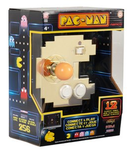 Pac-Man Connect and Play: Gold Edition  [September 2021 Delivery]
