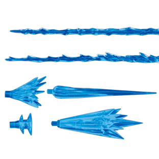 1/100 THE GUNDAM BASE LIMITED MS EFECT 01 (CLEAR BLUE)