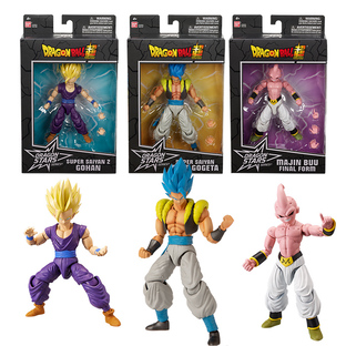 Dragon Stars Collector Value Pack: Super Saiyan 2 Gohan(x2), Super Saiyan Blue Gogeta(x2), Majin Bu Final Form(x2) set
