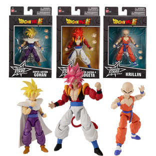 Dragon Stars Collector Value Pack: Super Saiyan 4 Gogeta(x2), Krillin(x2), Super Saiyan Gohan(x2) set