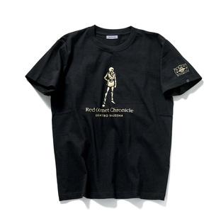 Red Comet Chronicle Quattro Bajeena T-shirt—Mobile Suit Zeta Gundam
