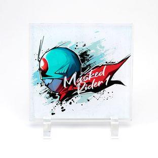 Kamen Rider 1 Pop Art Style Acrylic Standee
