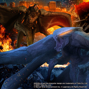 Kaiju Out of The Laws  MUTO set