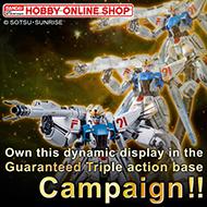 HobbyOnlineShop Guaranteed Triple action base Campaign!!