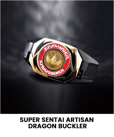 SUPER SENTAI ARTISAN DRAGON BUCKLER