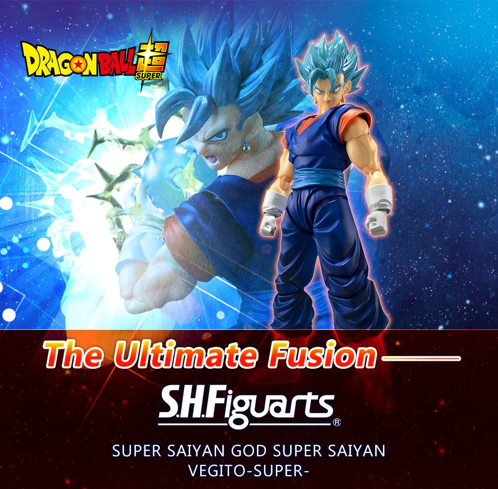 Figuarts Dragonball Z Super Saiyan Vegito Vegetto Bandai Tamashii Premium S.H