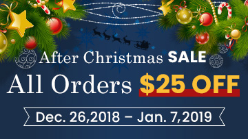 After Christmas Sale 2018