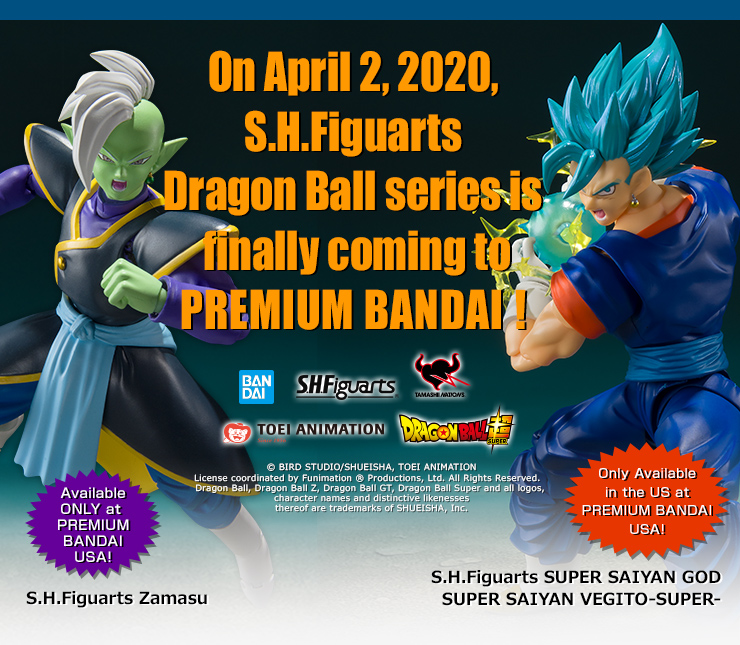 On April 2, 2020, S.H.Figuarts Dragon Ball series is finally coming to PREMIUM BANDAI !