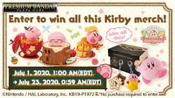 Kirby Share to Win Sweepstakes!